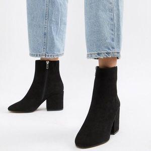 Asos heeled booties - Never been worn